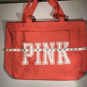 Victoria's Secret Pink logo Tote Bag